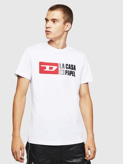 Diesel - LCP-T-DIEGO-CASA, Weiß - T-Shirts - Image 1