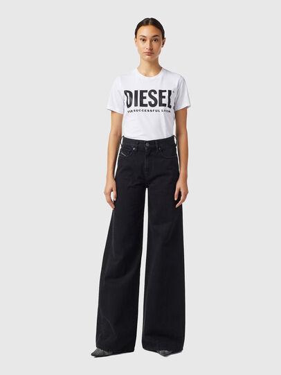 Diesel - D-Akemi Z09RL, Nero/Grigio scuro - Jeans - Image 5