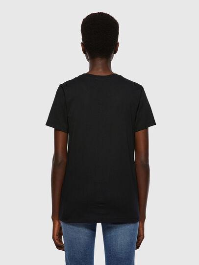 Diesel - T-SILY-B2, Noir - T-Shirts - Image 2