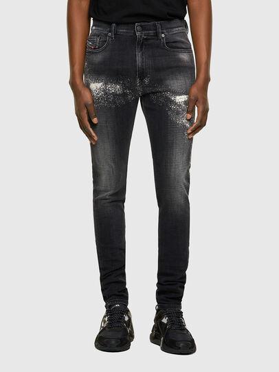Diesel - D-Amny 009QW, Nero/Grigio scuro - Jeans - Image 1