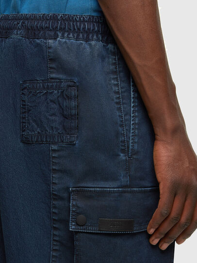 Diesel - D-PRONE-SP JOGGJEANS, Dark Blue - Shorts - Image 3