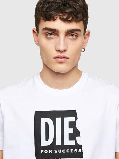 Diesel - T-DIEGOS-LAB, Bianco - T-Shirts - Image 3