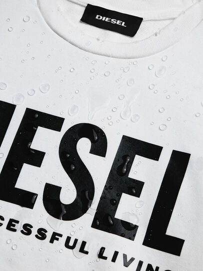 Diesel - S-GIR-DIVISION-LOGO, Blanc - Pull Cotton - Image 6