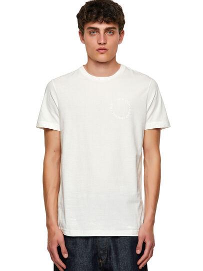 Diesel - T-DIEGOS-A4, Bianco - T-Shirts - Image 1