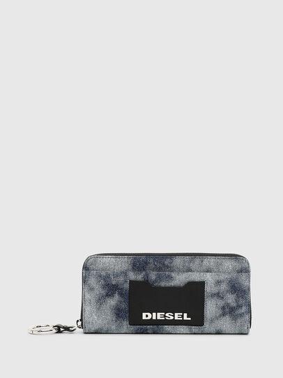 Diesel - ALLIUM, Jeansblau - Portemonnaies Zip-Around - Image 1