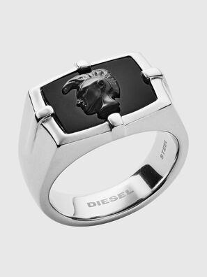 DX1175, Silber/Schwarz - Ringe