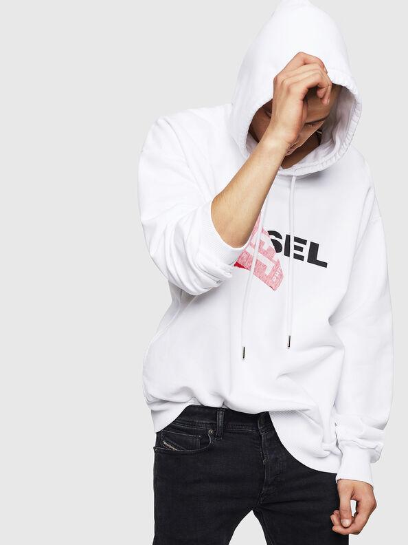 S-ALBY, Weiß - Sweatshirts