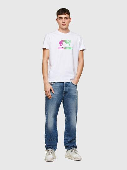 Diesel - T-DIEGOS-E30, Blanc - T-Shirts - Image 4