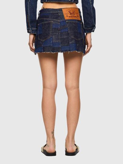 Diesel - DE-JEYJEY, Medium blue - Skirts - Image 2