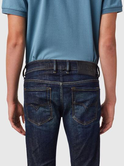 Diesel - Sleenker 09B07, Bleu Foncé - Jeans - Image 5