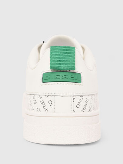 Diesel - S-CLEVER LOW LACE, Blanc/Vert - Baskets - Image 5