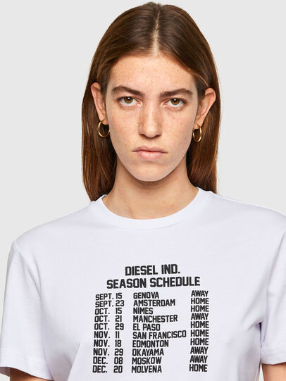 Diesel - T-DIEGOS-A11, Blanc - T-Shirts - Image 3