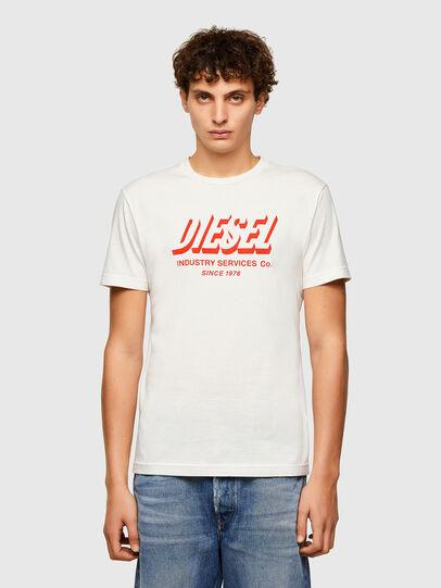 Diesel - T-DIEGOS-A5, Bianco - T-Shirts - Image 1