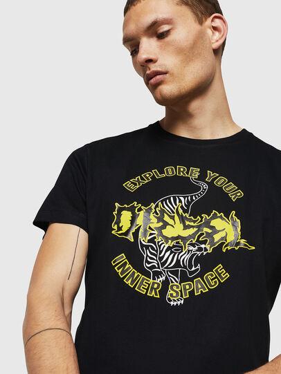 Diesel - T-DIEGO-B15, Schwarz - T-Shirts - Image 3