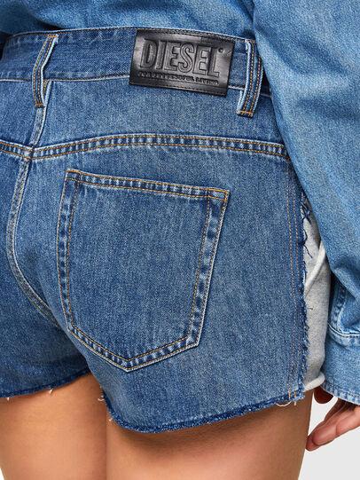Diesel - S-PAM, Bleu/Gris - Shorts - Image 3