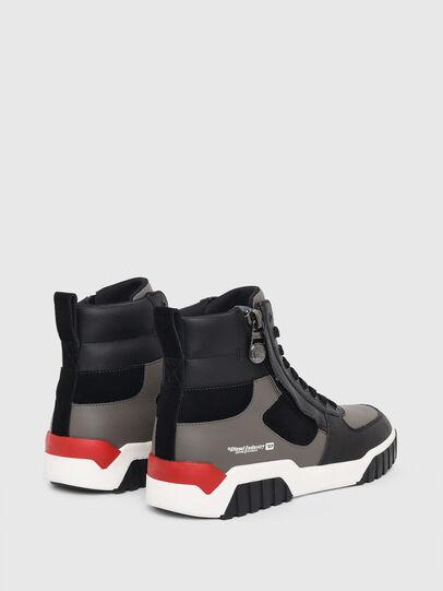 Diesel - S-RUA MID SK, Grey - Sneakers - Image 3