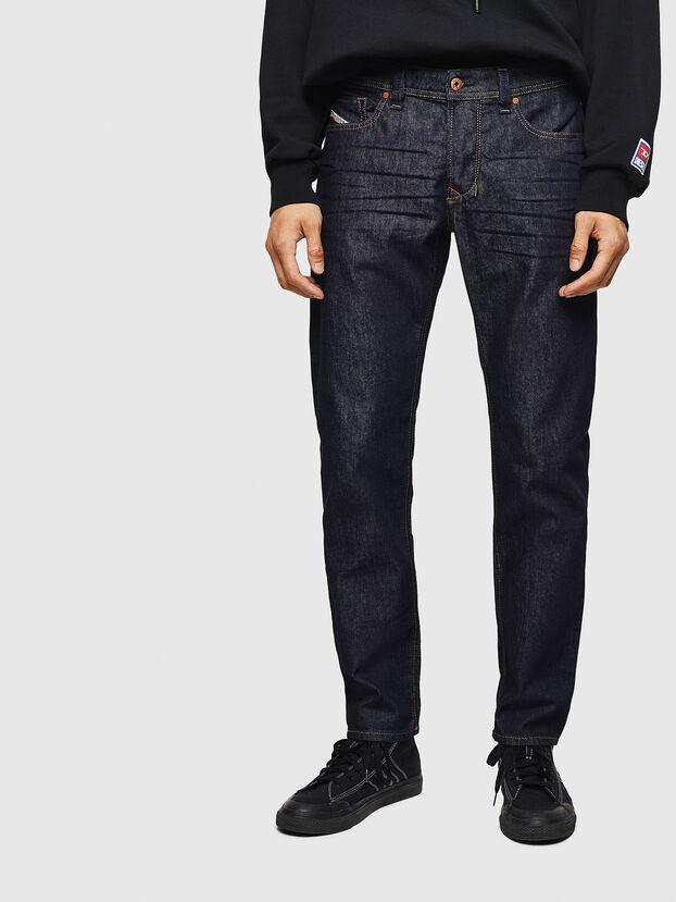 Larkee-Beex 084HN, Dunkelblau - Jeans