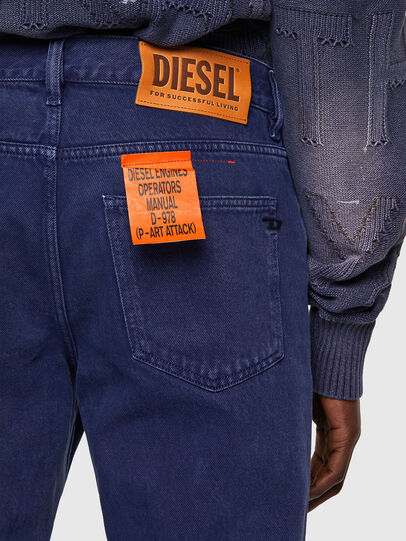 Diesel - D-Macs 09A34, Blu medio - Jeans - Image 4