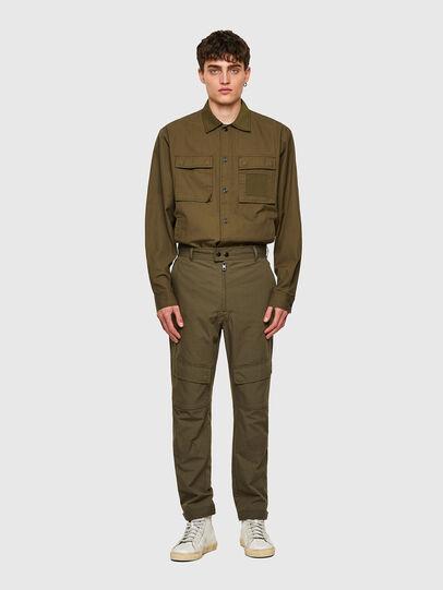 Diesel - P-SIDE, Vert Militaire - Pantalons - Image 6