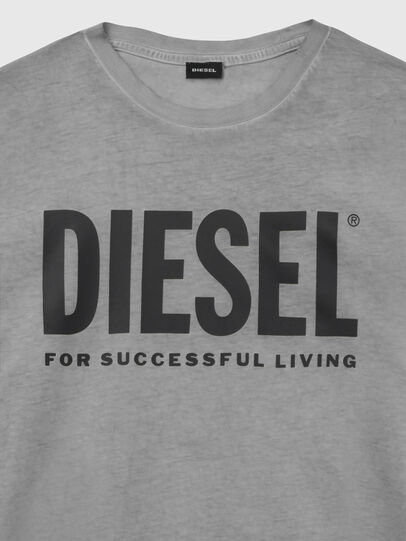 Diesel - T-SILY-WX, Dunkelgrau - T-Shirts - Image 3