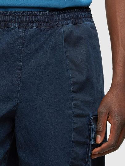 Diesel - D-PRONE-SP JOGGJEANS, Dark Blue - Shorts - Image 4