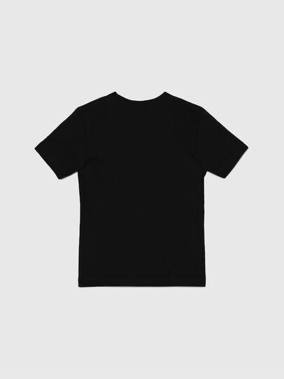 Diesel - TJUSTLOGOB-R, Noir - T-shirts et Hauts - Image 2