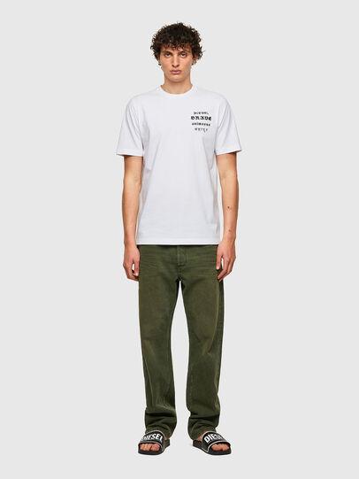 Diesel - T-JUST-B59, Bianco - T-Shirts - Image 4