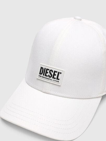 Diesel - CORRY-GUM, Weiß - Hüte - Image 3