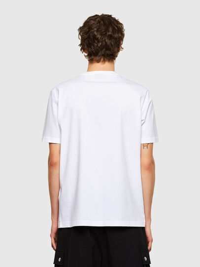 Diesel - T-JUST-E11, Blanc - T-Shirts - Image 2