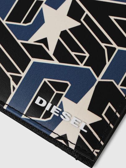 Diesel - HIRESH S, Schwarz/Blau - Kleine Portemonnaies - Image 4