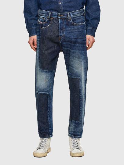 Diesel - D-Vider 009NJ, Mittelblau - Jeans - Image 1