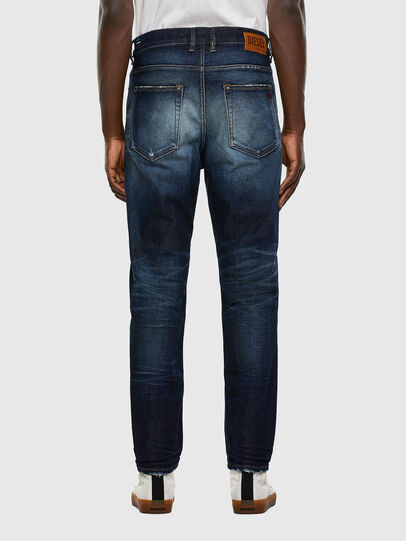Diesel - D-Vider 0092I, Bleu Foncé - Jeans - Image 2