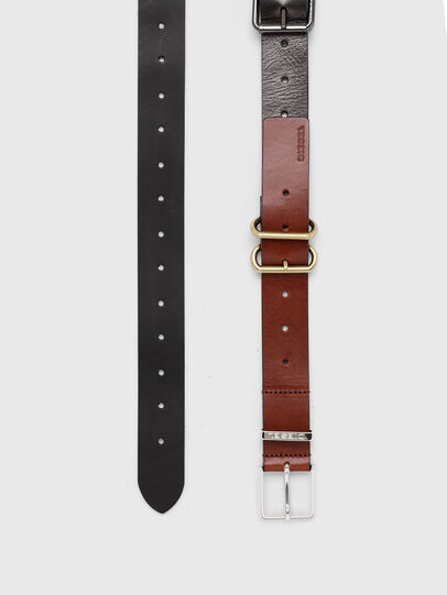 Diesel - B-TRIPLA, Brown/Black - Belts - Image 3