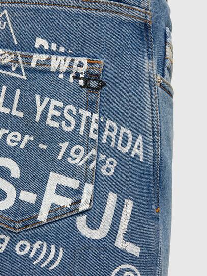 Diesel - D-Strukt 009DX, Hellblau - Jeans - Image 5