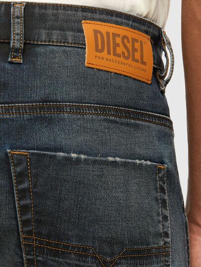 Diesel - Krooley JoggJeans 069NS, Dunkelblau - Jeans - Image 4