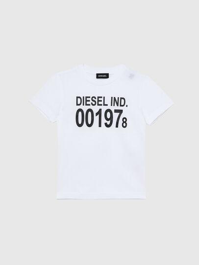 Diesel - TDIEGO001978B-R, Weiss/Schwarz - T-Shirts und Tops - Image 1