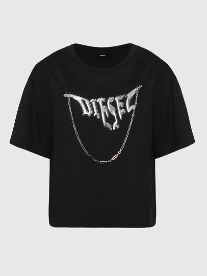 Diesel - T-BOWLY, Schwarz - T-Shirts - Image 1