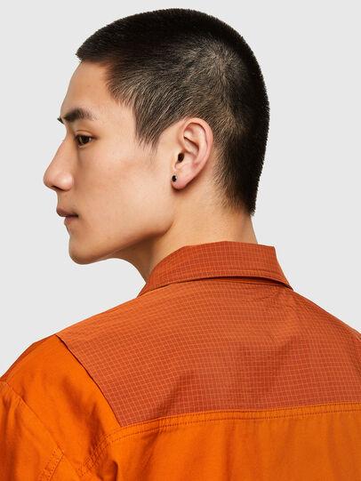 Diesel - S-GUNN-LS, Orange - Chemises - Image 4