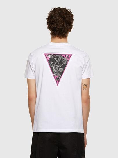 Diesel - T-DIEBIND-E1, Blanc - T-Shirts - Image 2