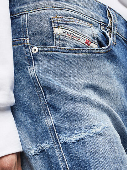 Diesel - D-Istort 009CJ, Mittelblau - Jeans - Image 4