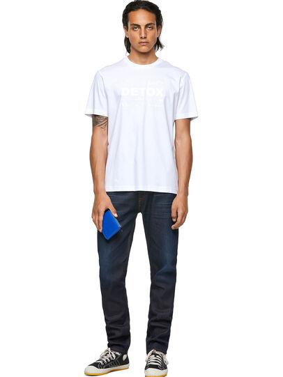 Diesel - T-JUST-B63, Weiß - T-Shirts - Image 4