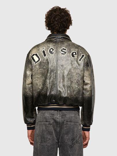 Diesel - DxD-2, Noir - Vestes de cuir - Image 4