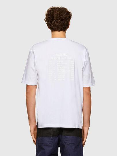 Diesel - T-GORAN-A1, Bianco - T-Shirts - Image 2