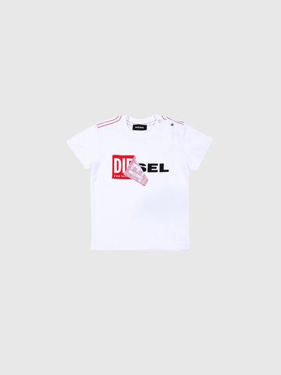 Diesel - TOQUEB MC, Weiß - T-Shirts und Tops - Image 1