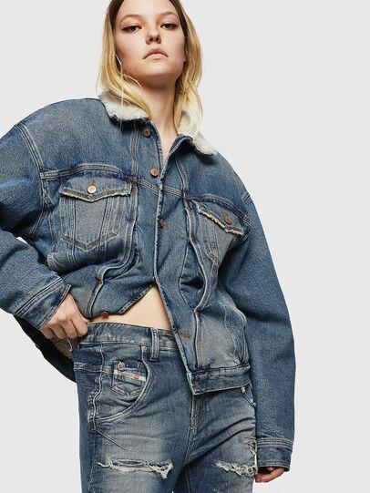 Diesel - Fayza JoggJeans 0890A, Hellblau - Jeans - Image 5