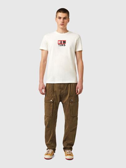 Diesel - T-DIEGOS-B10, Blanc - T-Shirts - Image 4