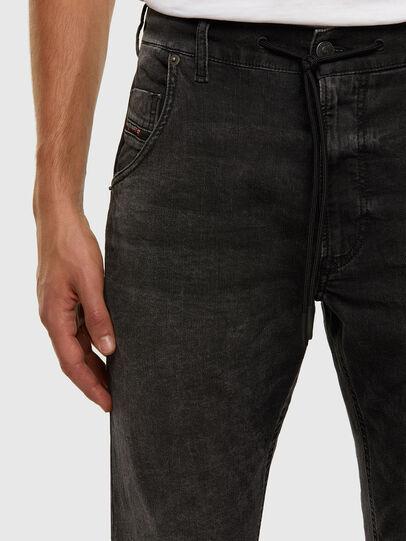 Diesel - KROOLEY JoggJeans® 009FZ, Schwarz/Dunkelgrau - Jeans - Image 3