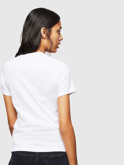Diesel - T-SILY-WN, Weiß - T-Shirts - Image 2
