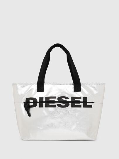 Diesel - F-BOLD SHOPPER II, Silber - Shopper und Schultertaschen - Image 1