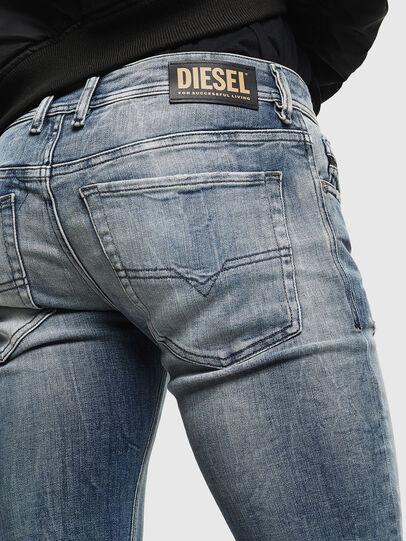 Diesel - Sleenker 0098D, Hellblau - Jeans - Image 3